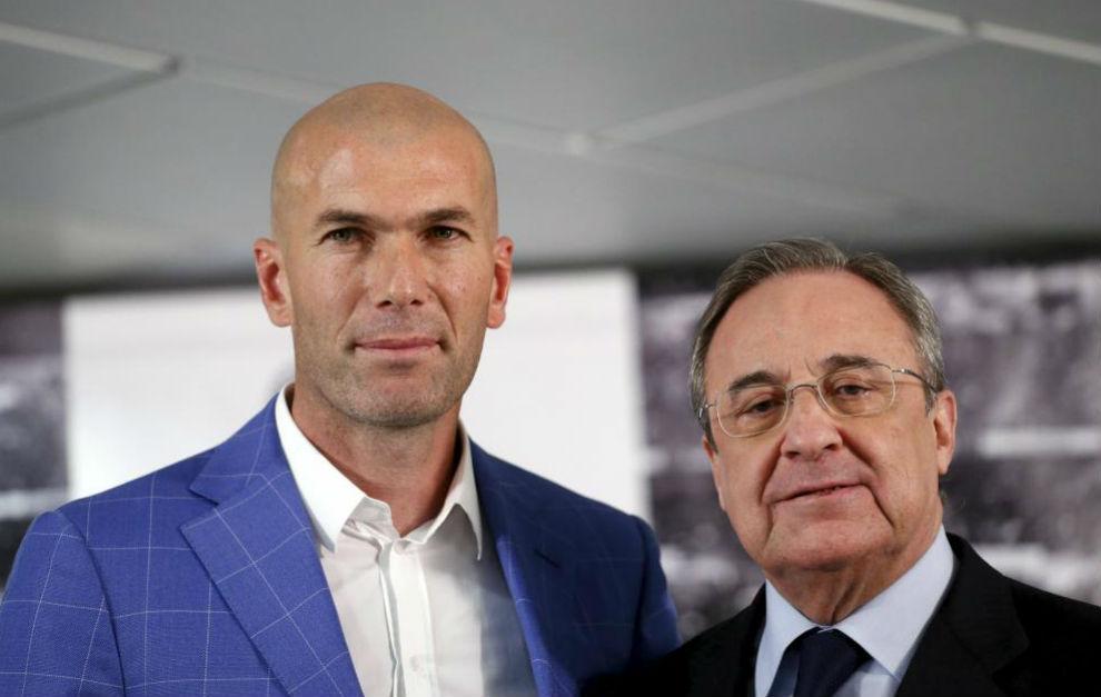 "Florentino, en L'Equipe: ""Zidane es eterno"""