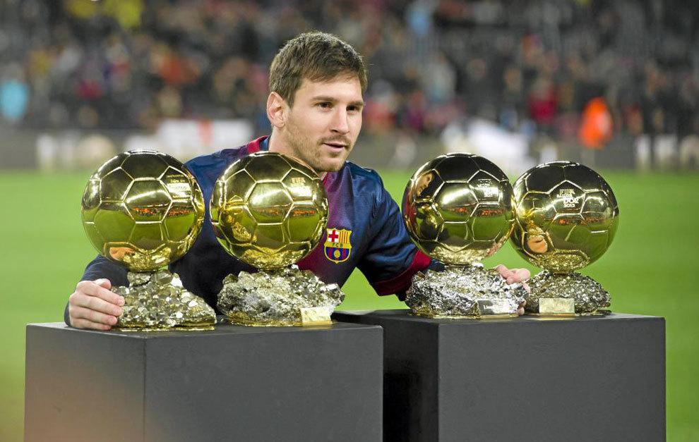 Balón de Oro  Leo Messi 7989f7b51bc02