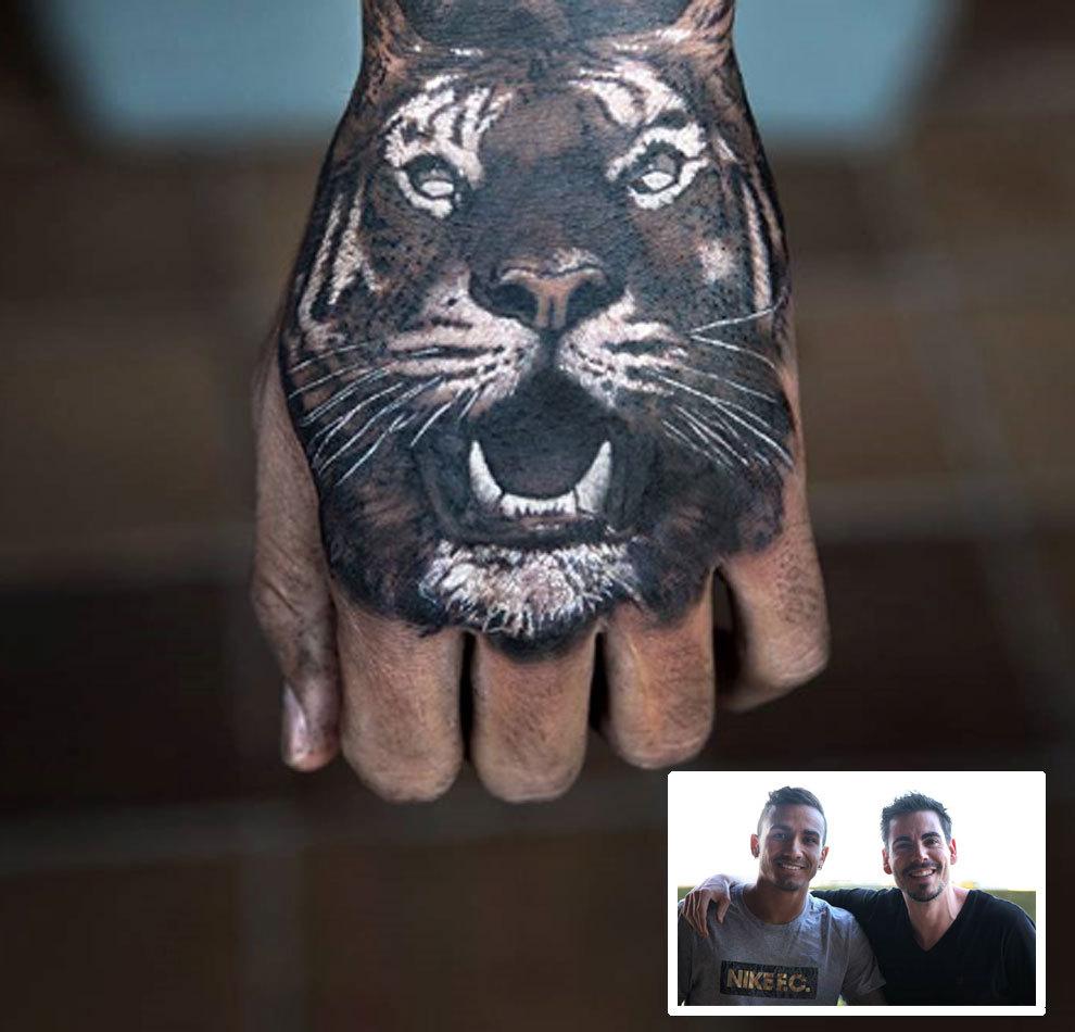 Danilo Luce Nuevo Tatuaje En La Mano Marcacom