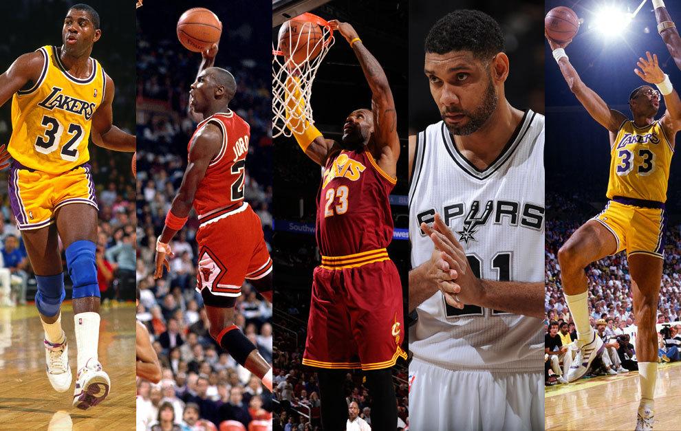 NBA: Elige El Mejor Quinteto De La Historia De La NBA