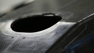 La imagen que ha publicado Renault de su nuevo chasis.