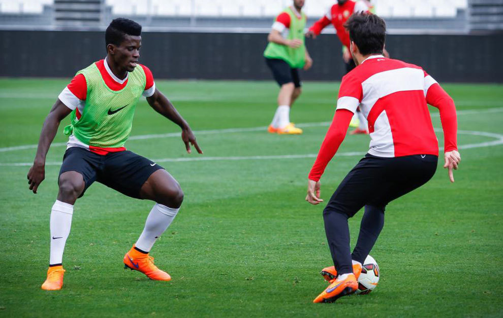 Image result for ramon azeez at ud almeria b