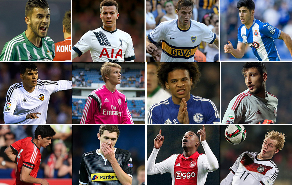 Los 50 mejores sub 20 del mundo - La Gazzetta dello Sport ha publicado la  lista de...  c784fbb44a147