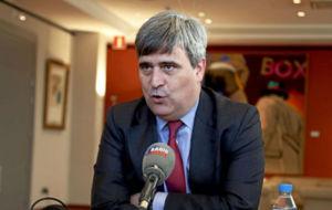 Miguel Cardenal, ante el micrófono de Radio MARCA.