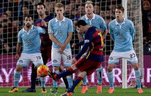 ¿Quién marca más goles de falta  Messi o Cristiano  79. BARCELONA 098d6dda604