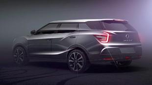 El XLV combinará estética SUV con capacidades de monovolumen en un...