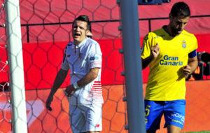 Konoplyanka, en el partido contra la UD Las Palmas.