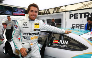Dani Juncadella, con el Mercedes del DTM en 2015.