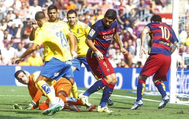 Barcelona vs las palmas en vivo