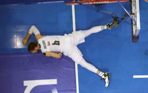 Felipe Reyes en la Final de la Copa del Rey ACB