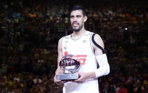 Gustavo Ayón es el MVP de la Copa del Rey