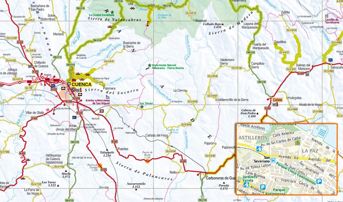 Europa Michelin Mapa Carreteras Anillas Varios Imosver