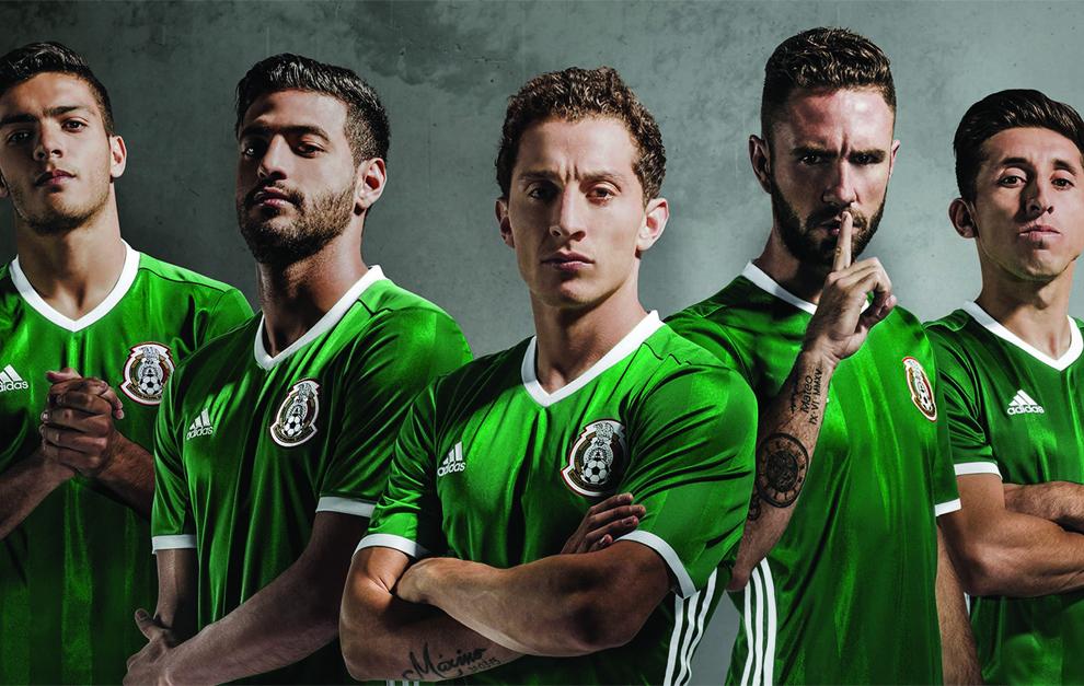 La nueva camiseta de la selección mexicana.  021635c0e1260