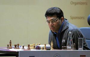 El ajedrecista indio Viswanathan Anand.