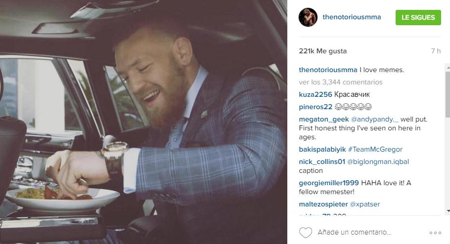 El irlándes Conor McGregor ha utilizado sus redes sociales para...