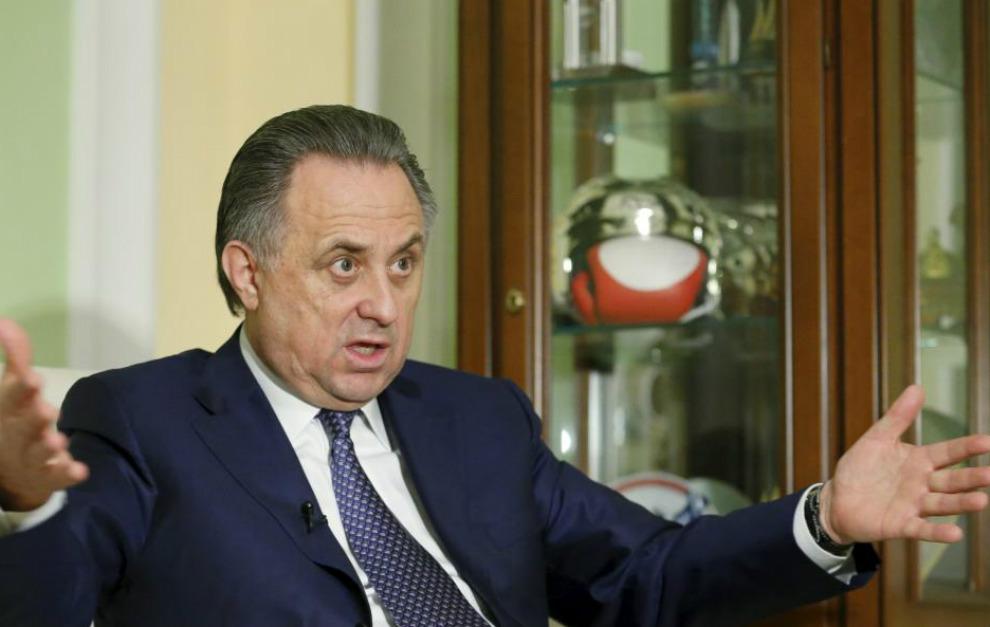 El ministro Vitaly Mutko