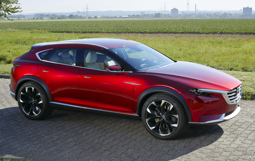 Esta imagen corresponde al Mazda Koeru dado que aún no hay imágenes...