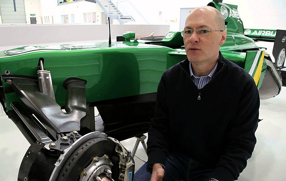 El ingeniero británico Mark Smith.