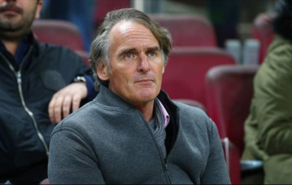 Jan Olde Riekering, ahora entrenador del Galatasaray.