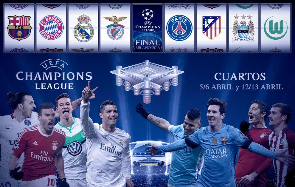 Champions: Un sorteo de cuartos de final para temblar | Marca.com
