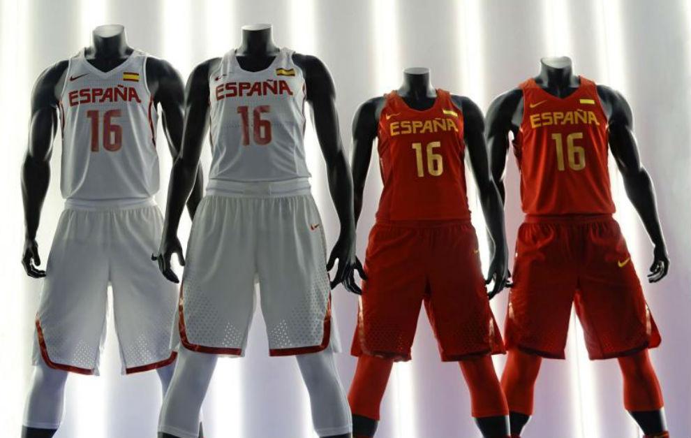 Nike presenta la camiseta de España en los Juegos de Río  a6a4121fb4091