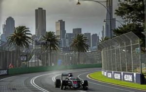 Fernando Alonso en los entrenamientos libres del viernes