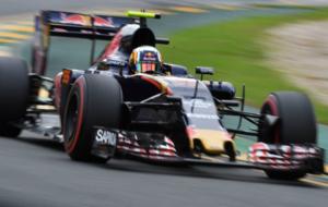 Sainz, durante la calificación del Gran Premio de Australia