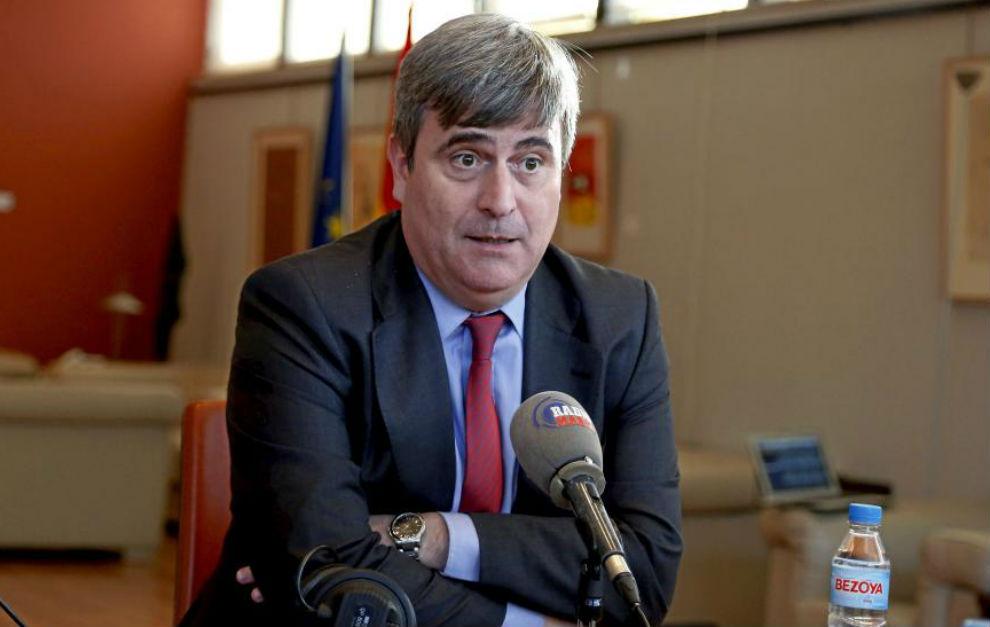 Miguel Cardenal, presidente del Consejo Superior de Deportes, durante...