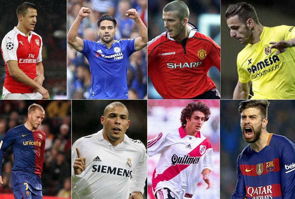 20 Parejas De Futbolistas Que No Recordabas Que Habian Jugado Juntos