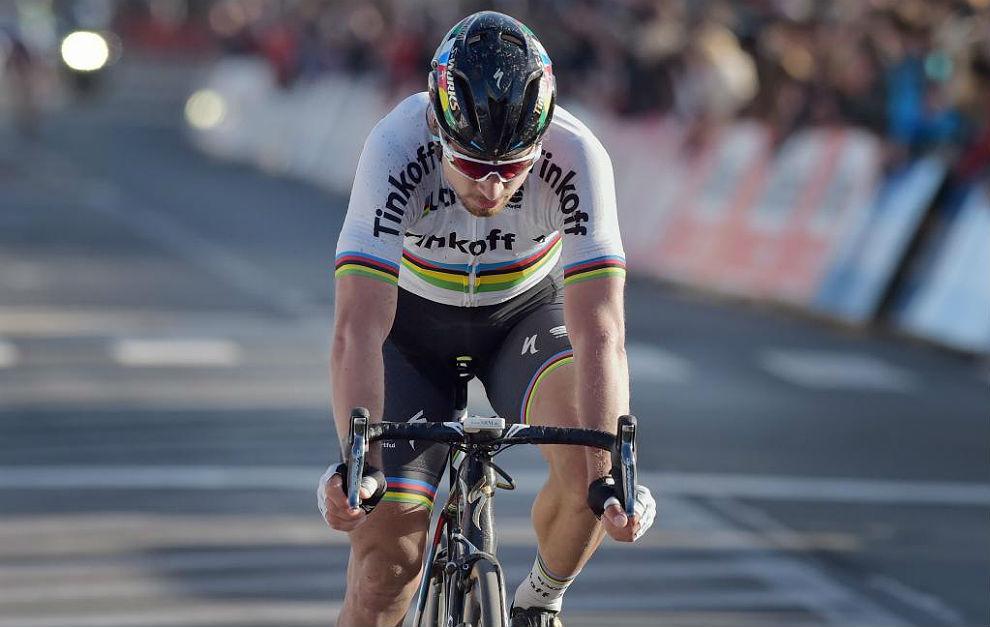 Peter Sagan, tras su sexto segundo puesto del año, el viernes en el...