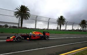 Daniel Ricciardo, en el Gran Premio de Australia de 2016