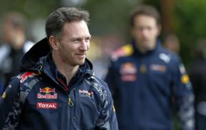 Christian Horner en el paddock del GP de Australia de 2016