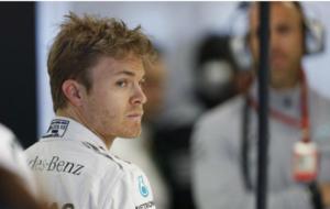 Rosberg, durante la calificación del GP de Australia 2016