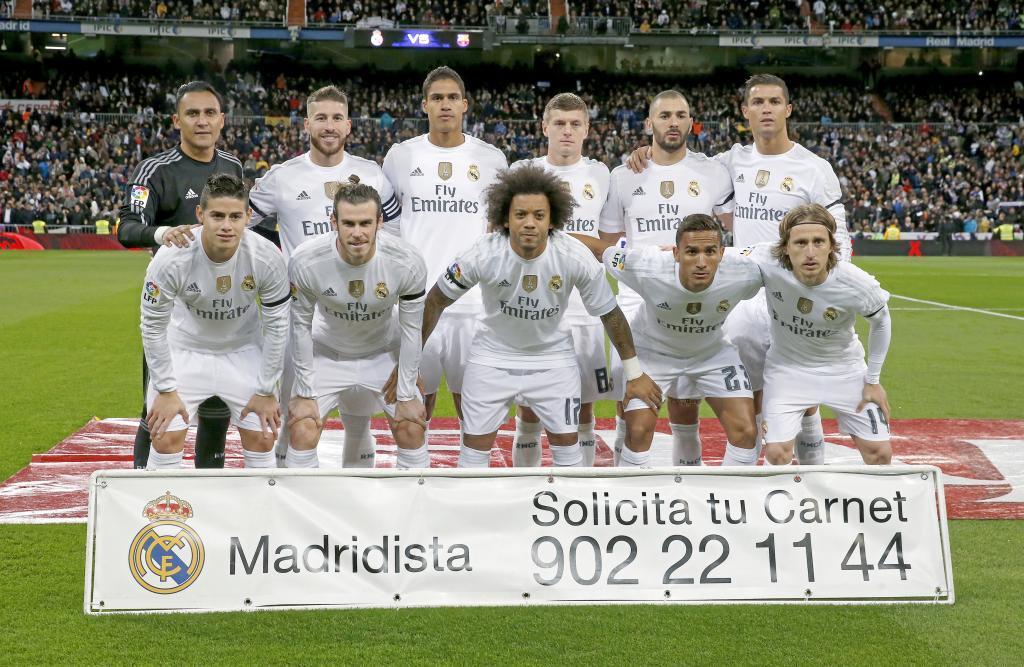 El once que alineó Rafa Benítez en el Clásico del Bernabéu.