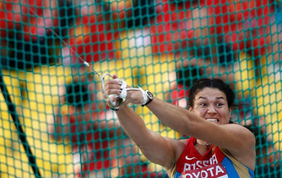 Lysenk, en el Campeonato del Mundo de Moscú en 2013.