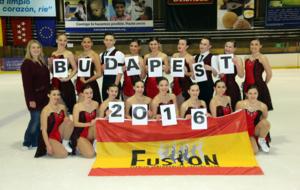El Team Fusi�n, antes de viajar a Buadpest