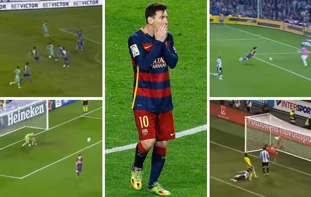 3c44800f336a FC Barcelona: Los 10 casi goles de Messi que habrían dado la vuelta ...