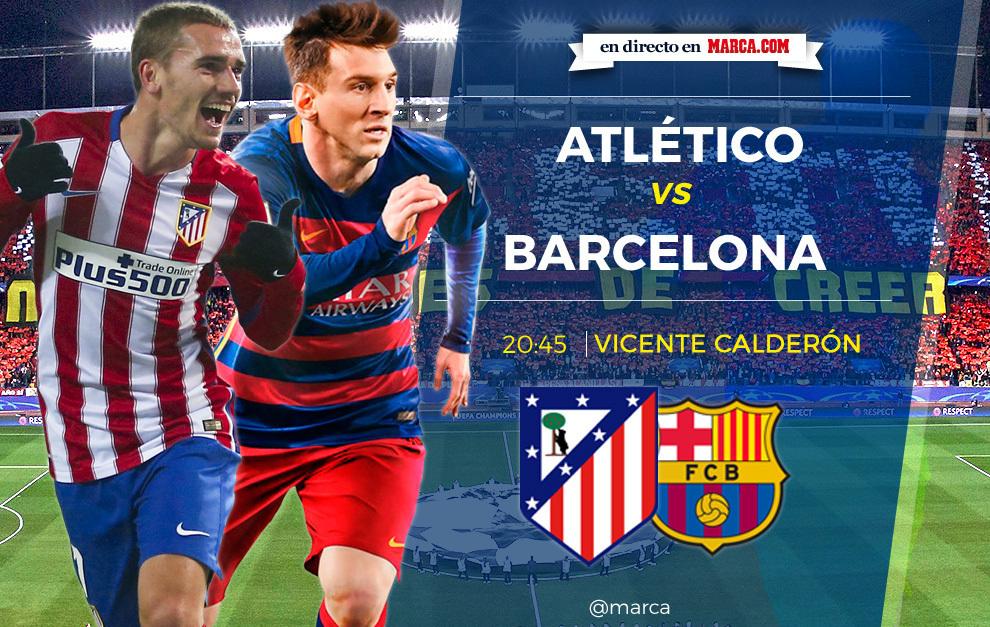 atlético de madrid vs barcelona en directo y en vivo online 2 0