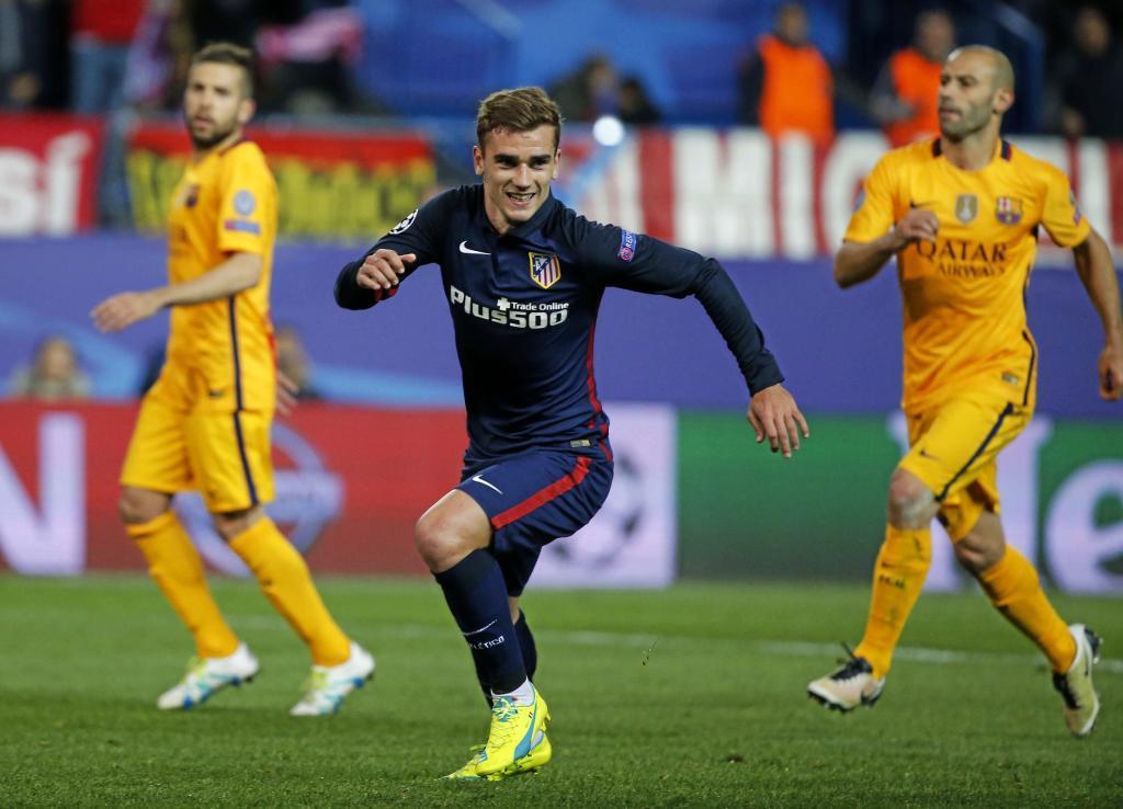 Antes de llegar a los primeros 10 minutos el Atlético ya había disfrutado  de dos ocasiones más o menos claras. La primera 25350218196