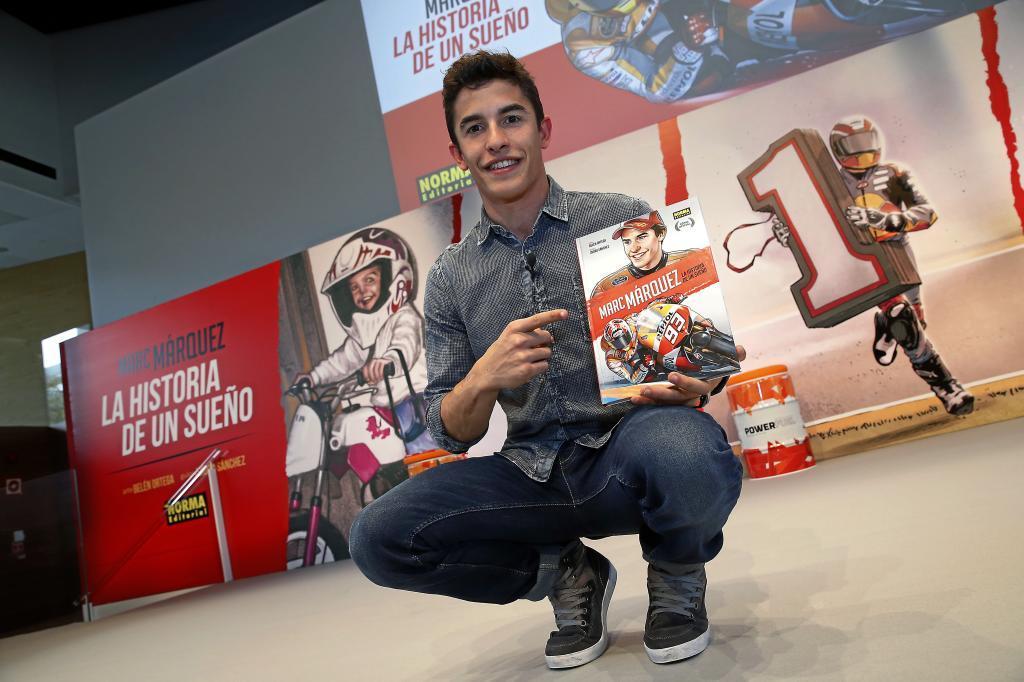 Presentación del comic oficial de Marc Márquez en la sede REPSOL
