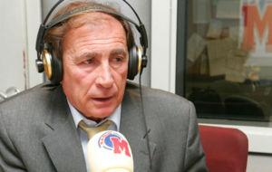 Toni Grande durante una entrevista en Radio MARCA.