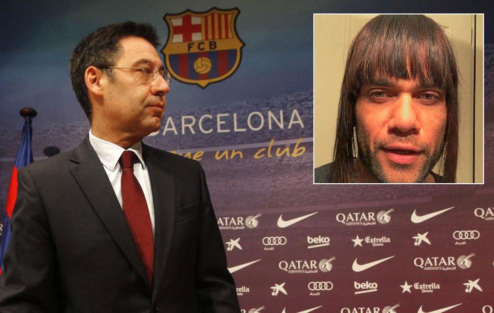 FC Barcelona  El Barça estudia sancionar a Alves por su polémico ... 3a5004deb54