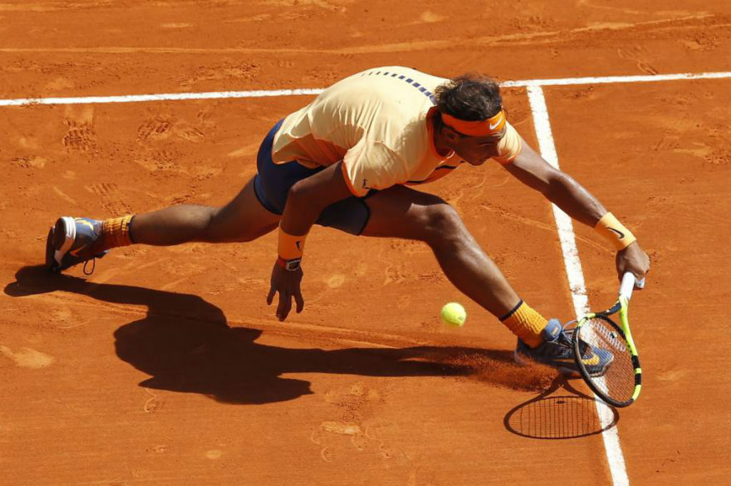 Nadal in full flow