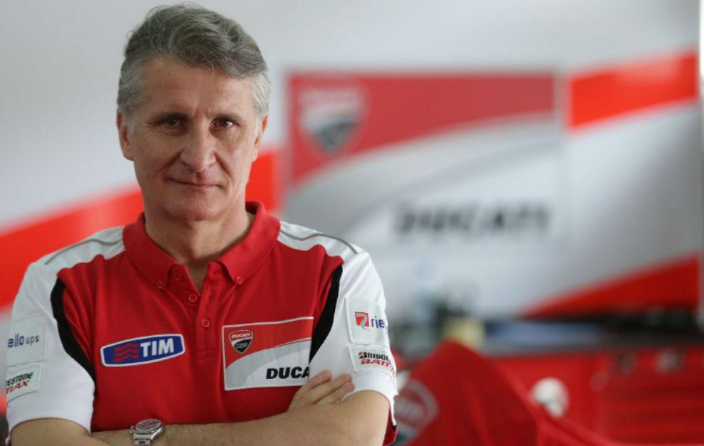 Paolo Ciabatti, director deportivo de Ducati Corse.