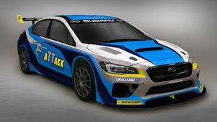 Así será el Subaru WRX STI que pilotará Mark Higgins en el intento...