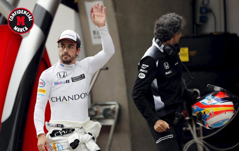 Tatuaje Fernando Alonso fórmula 1: a fernando alonso no le quieren dejar irse en 2017