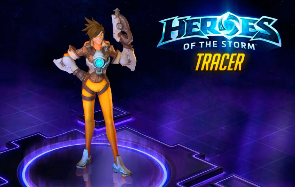 eSports  Tracer llega a Heroes of the Storm con muchos cambios ... 0f2f26ace1b9