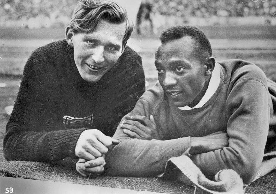 Lutz Long y Jesse Owens, rivales y amigos íntimos