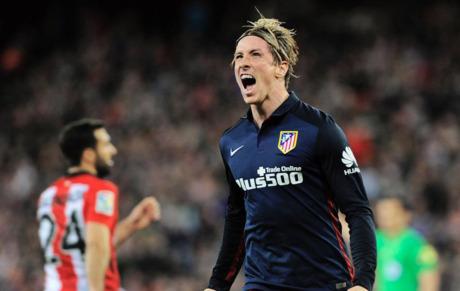 Fernando Torres festeja el gol que consiguió el pasado miércoles en. d77045d1c1da2