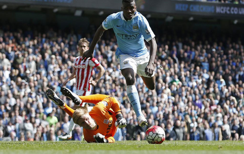 Iheanacho grabs his second against the Potters